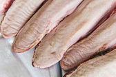 Raw pork tongue — Stock Photo