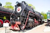 Rail road lokomotivet — Stockfoto