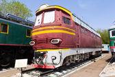 Vía férrea locomotora — Foto de Stock