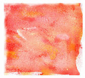 Watercolor orange background — Stock Photo