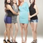 Group of beautiful women — Stock Photo #15396197