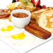 Full Breakfast — Stock Photo