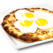 Breakfast Pizza — Stock Photo