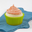 Royalty-Free Stock Photo: Cupcake on plate