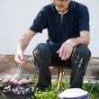 It's time for barbecue — Stock Photo