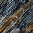 Royalty-Free Stock Photo: Old wooden plank background natural weathered