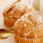 Poppy seeds and lemon muffins — Stock Photo #13618455