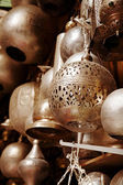Lamps in street shop in cairo, egypt — Stock Photo