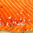Smocked salmon homemade — Foto de Stock