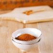 Spices Chicken BBQ Rub mix of Herbs, shallow dof — Stock Photo