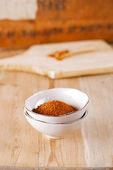 Churrasco de frango especiarias esfregue a mistura de ervas, rasas dof — Fotografia Stock