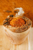 Spices BBQ Rub mix of Herbs, shallow dof — Stock Photo