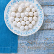 Kurt kurut - asian dried yogurt balls — Stock Photo
