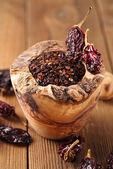 Chipotle - jalapeno smoked chili — Стоковое фото