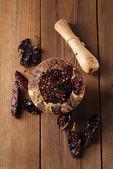 Chipotle - jalapeno smoked chili — Stock Photo