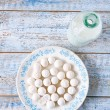 Kurt kurut - asian dried yogurt balls — Stok fotoğraf