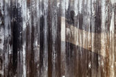 Aged painted wooden fence, naturally weathered — Stock Photo