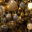 Moroccan glass and metal lanterns lamps — Stock Photo #41068287