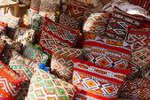 Moroccan cushions — Stock Photo