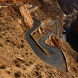 ������, ������: Snake like serpent road in Dades Gorge Morocco