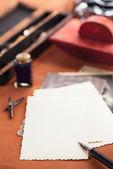 Vintage ink pen — ストック写真