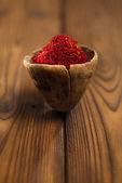 Saffron spices — Stock Photo