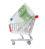 Utrácení peněz koncept — Stock fotografie