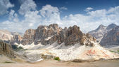 Dolomites, Lagazuio Gran — Stock Photo