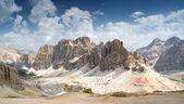 Dolomiti, gran lagazuio — Foto Stock