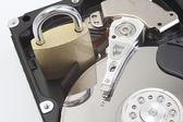 Güvenli sabit disk sürücüsü — Stok fotoğraf