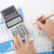 Foto de Stock  : Business report analysis