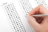 El teacher test correcto — Foto de Stock
