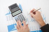 Analyse de rapport d'affaires — Photo