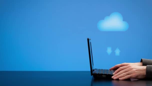 Concetto di cloud computin — Vidéo