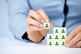 Human resources — Foto Stock