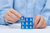 Human resources — Stock Photo
