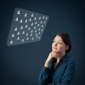 Human resources HR — Stock Photo