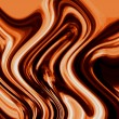 Liquid chocolate swirl — Stockfoto