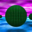 Foto de Stock  : Abstract spheres