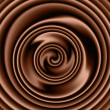Chocolate swirl — Stockfoto #13184381