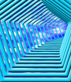 Abstract 3d way — Stock Photo