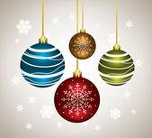 矢量圣诞球 — 图库矢量图片