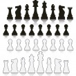 Vector set chess symbols — Stock Vector #29125839