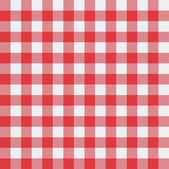 Vector picnic tablecloth pattern — Vetor de Stock