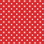 Vector  polka dot checkered pattern background — Stock Vector