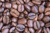 Macro coffee bean background — Foto de Stock
