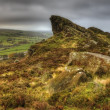 Stock Photo: View of Ramshaw Rocks in Peak District National Park