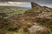 Ramshaw Rocks in Peak District National Park England — Stock Photo