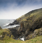 Lizard Point the most Southerly point in Britain — Stock Photo