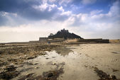 St Michael's Mount Bay Marazion landscape sunrise long exposure Cornwall England — Stock Photo